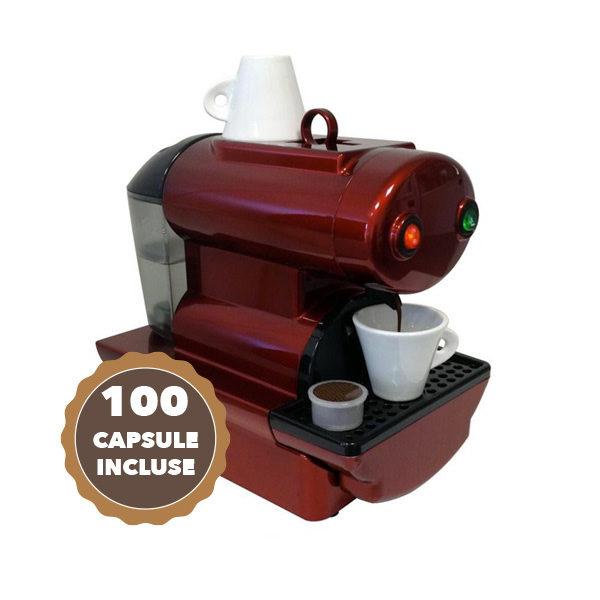 seme Ultimo fatturabile  Macchina Caffè Sistema Capsule Point Nano 100 Capsule Incluse - Caffè da Te